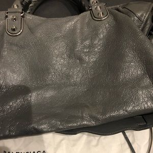 Balenciaga Bags - Balenciaga City Metallic Edge
